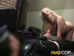 Fake Cop Hotel room blonde surprise for cop Thumb