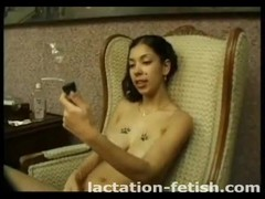 Lactation fetish freaks love puffy nipples Thumb
