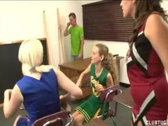 Horny Cheerleaders Wants Some Spurting Competition Thumb