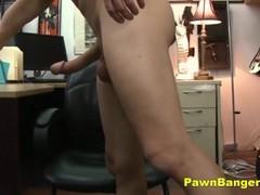 Tall Brunette Babe Fucks In Her High Heels Thumb