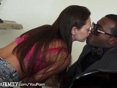 Black Step-Dad Seduced by Slutty Daughter Thumb
