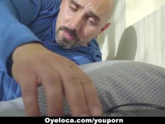 Oyeloca - Latina Seduced and Fucked by Horny Teacher Thumb
