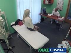 FakeHospital Skinny babe needs medicinal cock Thumb