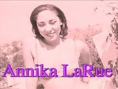 Cute Chick Annika Larue Giving Blowjob Outside Thumb