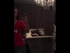 Rachel Starr shakes her dandelion Thumb