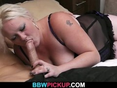 BBW gives head the gets doggystyled by a stranger Thumb