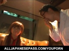 Mikan Tokonatsu gets cumshot Thumb