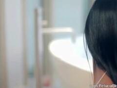 Japanese girls bukkake facial blowjob cumshot compilation 3 Thumb
