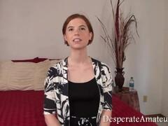 Thai Teen Heather Deep gives deepthroat throatpie for new laptop tablet.mp4 Thumb
