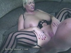 Huge Saggy Tits Cladia Marie Fucked By Black Studs 003 Thumb