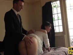 British bdsm sub whipped and spanked Thumb
