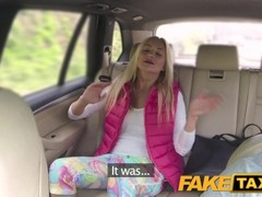 FakeTaxi Horny teen has outdoor sex Thumb