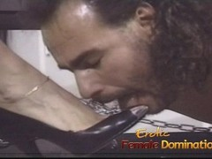 Pizza boy ends up as a slave in this dominatrixs dungeon Thumb