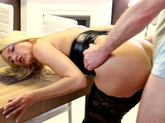 naughty-hotties.net - sweet blonde quickie - cum drink from condom plus massive facial.mp4 Thumb
