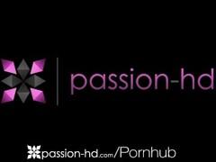 Three lusty bimbos have some kinky lesbian fun in the dungeon Thumb
