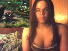 Sexy Girl Plays Game In Lingerie Thumb