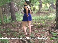 Teen Walks Around Park Flashing With No Panties On - KittenDaddy Thumb