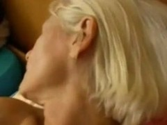 Sweet mature granny fucks her favorite toy Thumb