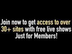 Pantyhose cam show with flexible JuicyAlicee Thumb