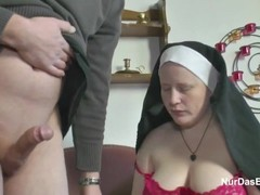 German young boy seduce granny nun to fuck him Thumb
