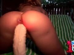 Kinky Granny has her pussy Filmed Thumb