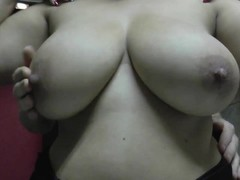Tit spanking squeezing slowmotion of my fat latina Thumb