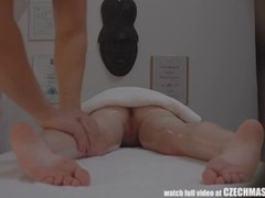 Extreme passionate redhead seduced in massage room Thumb