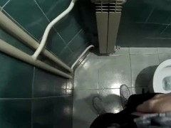 POV - get caught masturbating in public toilet Thumb