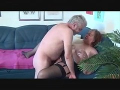 Old bbw plays with old man Thumb