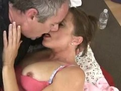 Mature couple fucking with cum in mouth Thumb