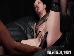 Rough interracial fisting and squirting orgasms Thumb