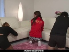 Kaori Maeda blows on two dicks in special threesome  - More at javhd.net Thumb