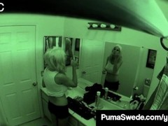 Swedish School Girl Puma Swede Filmed Secretly Having Sex! Thumb