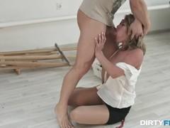 Dirty Flix - Anita - Office slut takes a rough fuck Thumb