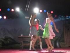 Threesome Lesbian LiveSexShow @ erotica festival - Little Caprice &... Thumb