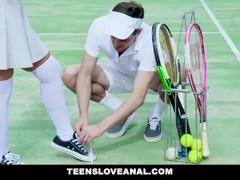 TeensLoveAnal - Lucky Student Anal Fucks Busty Tennis Coach Thumb