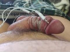 Homemade e-stim Thumb