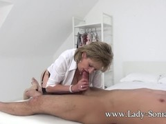 Lady Sonia Gives Her Lad A Happy Ending Thumb