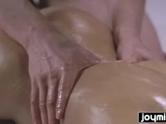 JOYMII- wild fucking nuru massage with blonde perfection Thumb
