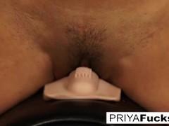 Priya Rai rides a Sybian to a giant climax! Thumb