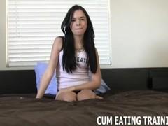 POV Cum Eating And CEI Femdom Videos Thumb