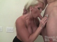 Female Muscle Porn Star Takes Cum on Her Huge Tits Thumb