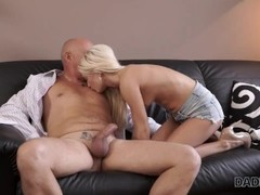 DADDY4K. Curious blonde wanted to try sex with experienced partner Thumb