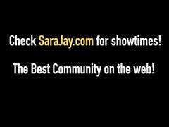 Interracial Milf Queen Sara Jay Pumps A Big Black Cock! Thumb