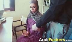 Arabian Teen Applying For Job Sucking Cock For Food Money Thumb
