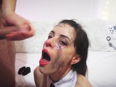 Cumshot compilation on face,mouth and ass Natalie Flowers. Thumb
