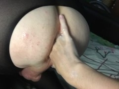 Russian sexy Mary makes a domination extreme anal fisting Thumb