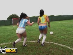 BANGBROS - Sexy Latina Pornstars With Big Asses Play Soccer And Get Fucked Thumb
