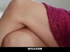 MYLF - Milf Lesbian Seduces Straight Girl Thumb
