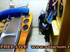 TahliaViolet Solarium Cam Public Voyeur Live Free solariumcam www.solarium.tv Thumb